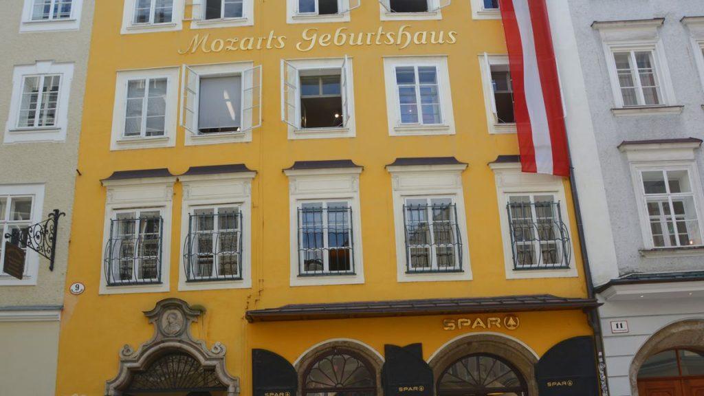 Mozarts födelsehus Salzburg