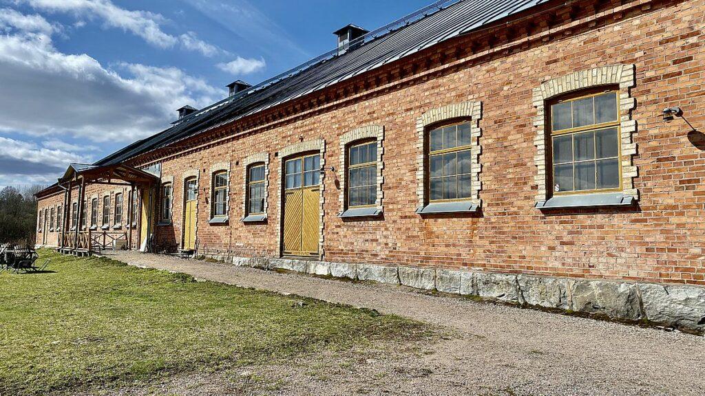 Stenstallet vid Tidö slott