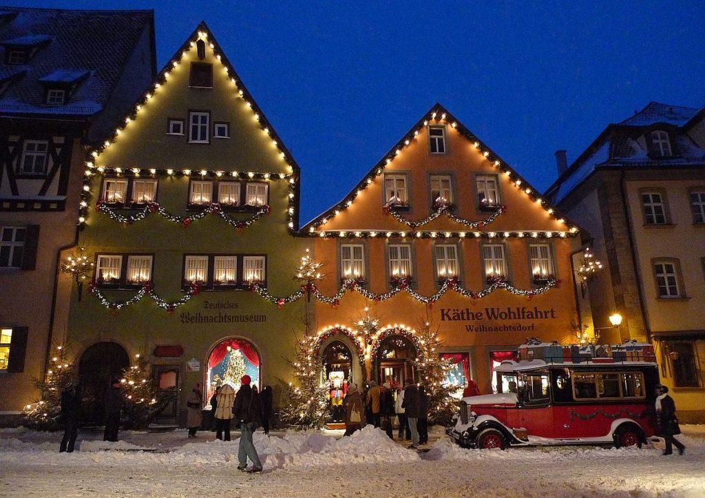Jul i Tyskland - julby och julmuseum