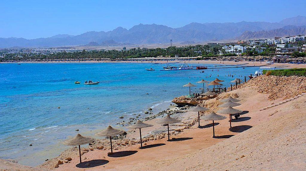 Stränder i Sharm el Sheikh - Naama bay
