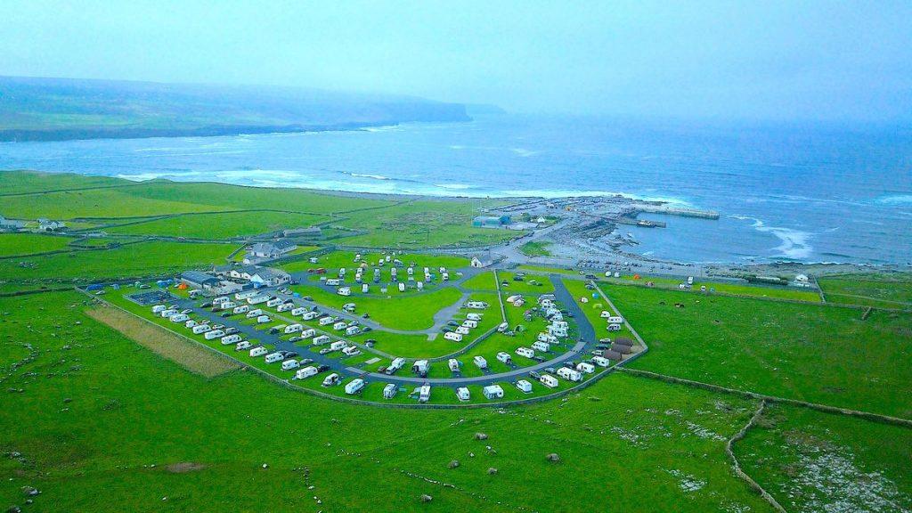 Nagles camping and caravan park i Doolin