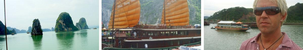 Hanoi och halong bay