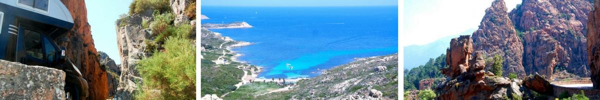 Frankrike, Korsika, Calanche