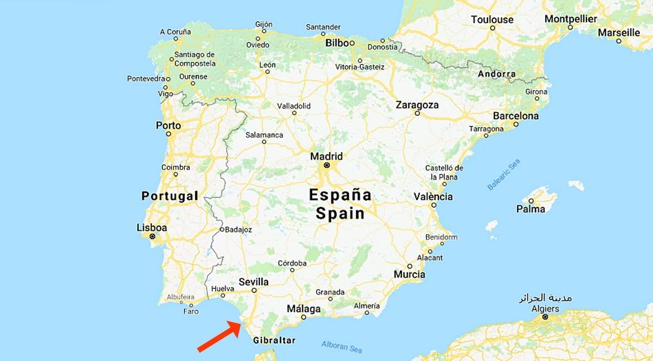 Spanien, El Puerto de Santa Maria, Cadiz