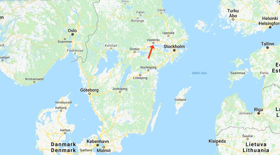 Västerås, ställplats, gästhamn