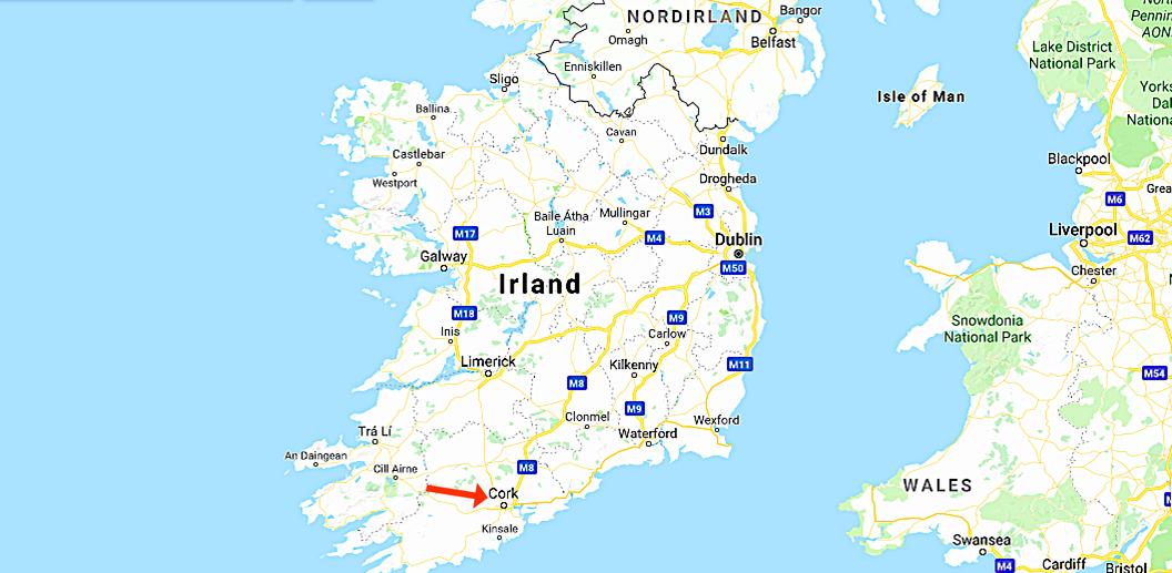 Blarney Caslte i Cork