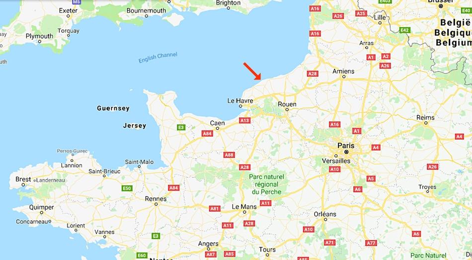 Normandie, Veulettes sur mer