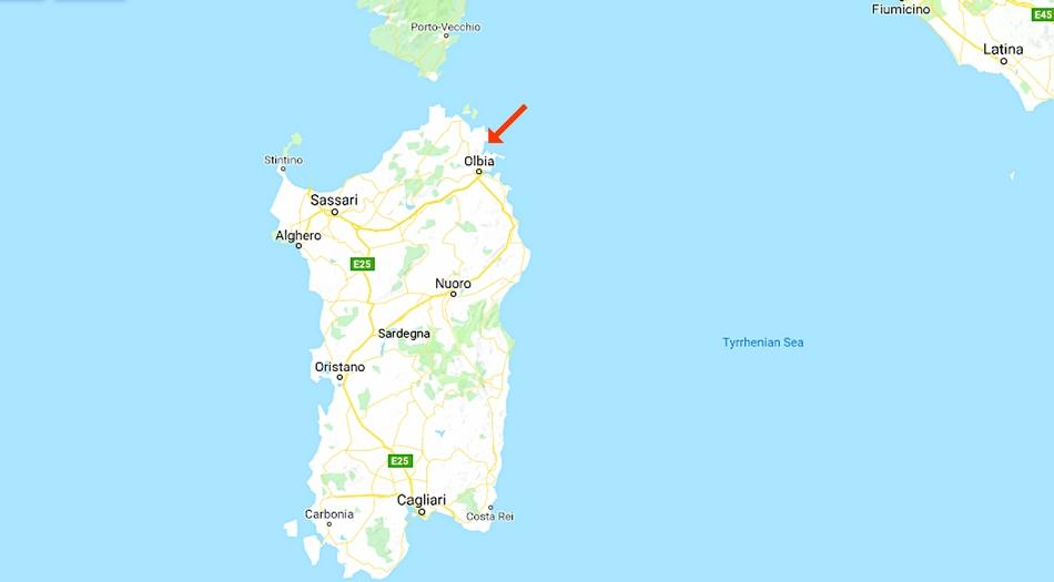 smaragdkusten, Sardinien