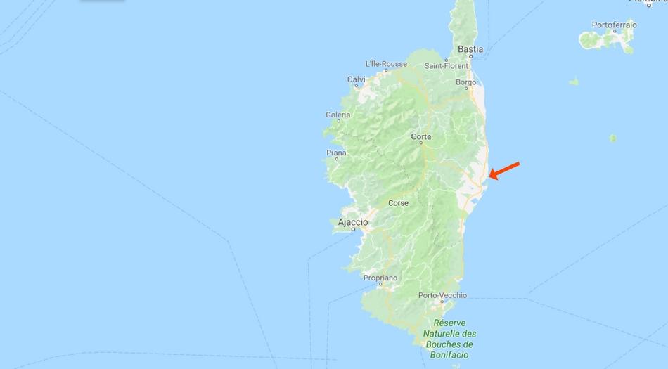 Korsika, Riva bella