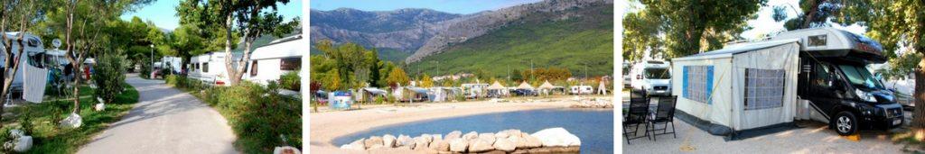 Kroatien, Camping Split