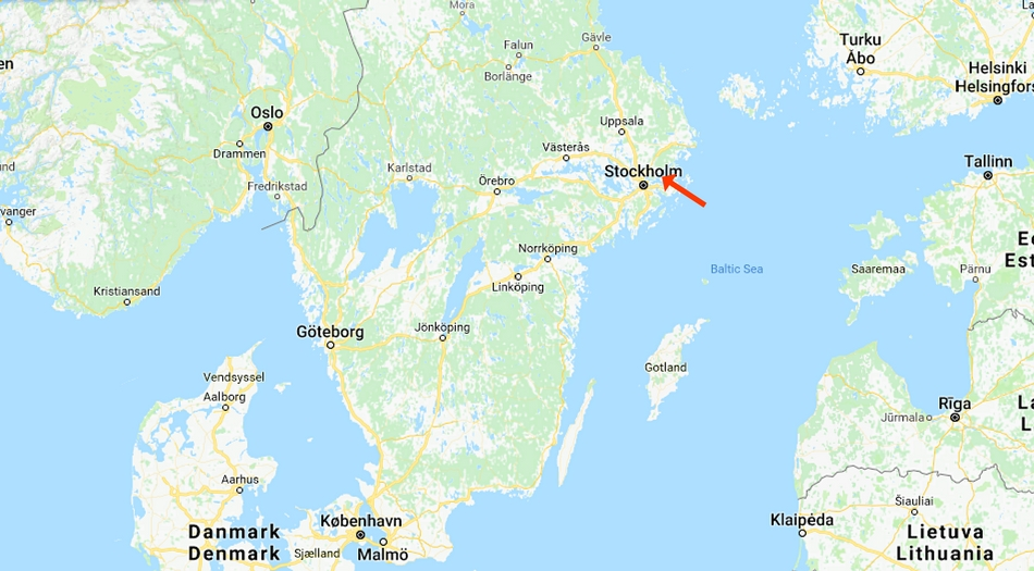 Vaxholm, Strand & Camping