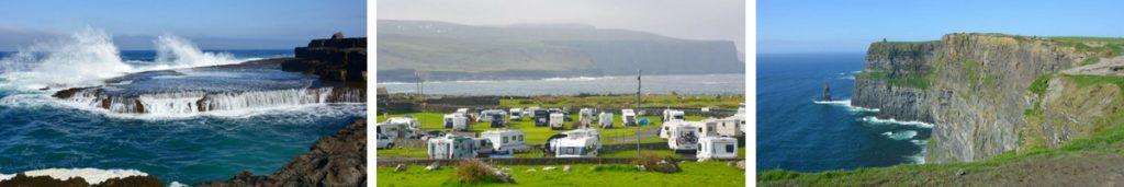 Camping Doolin Irland