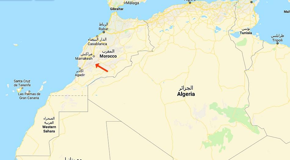Marocko, Irocha I Tisselday