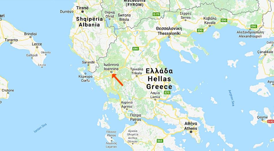 Grekland, Ioannina