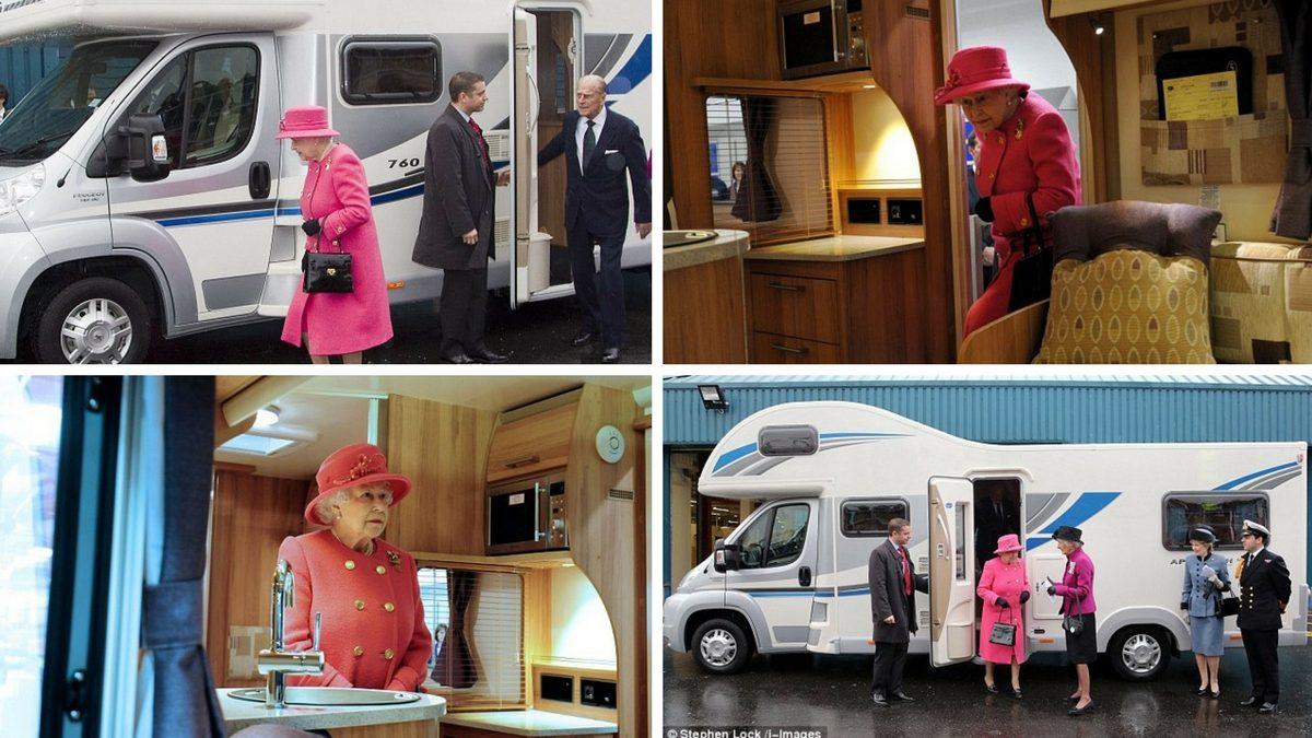 Queen Elisabeth husbil