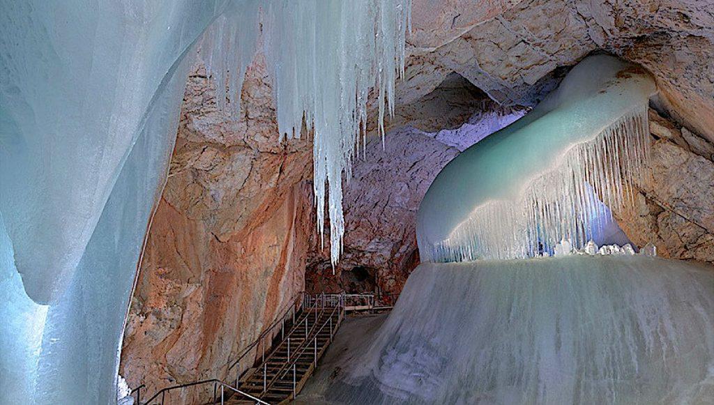 Ice cave Austria