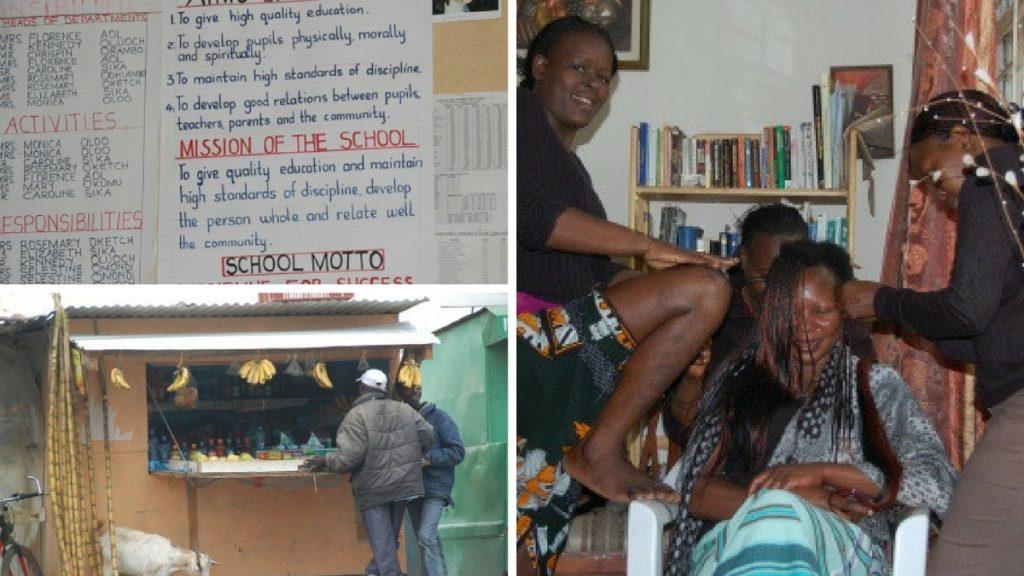 Bilder från Kenya