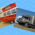 Monsterhusbil på Caravan Salon – och lite retro