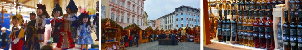 Julmarknad i Olomouc