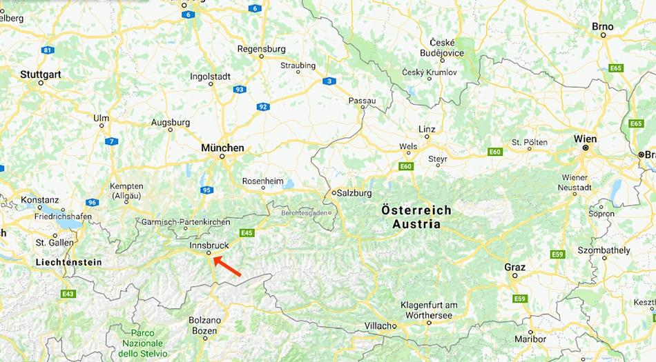 Österrike, Innsbruck
