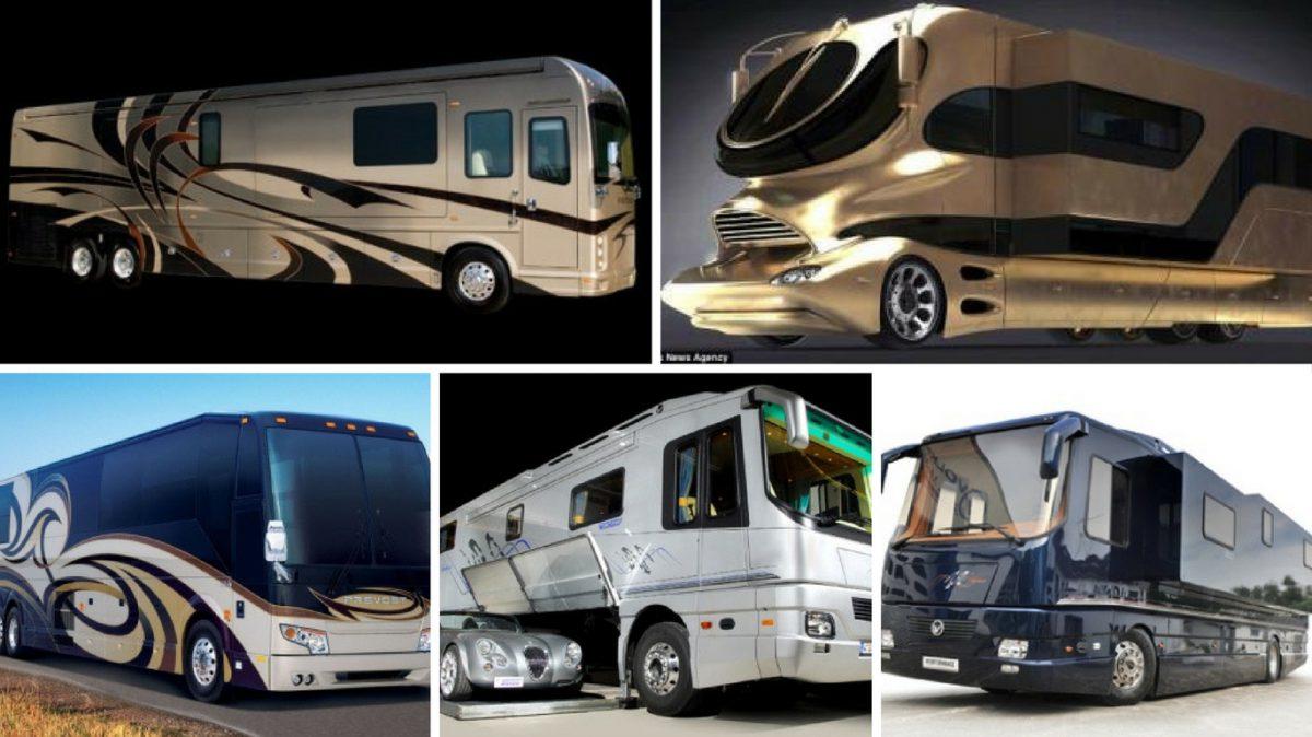 Världens fem dyraste husbilar