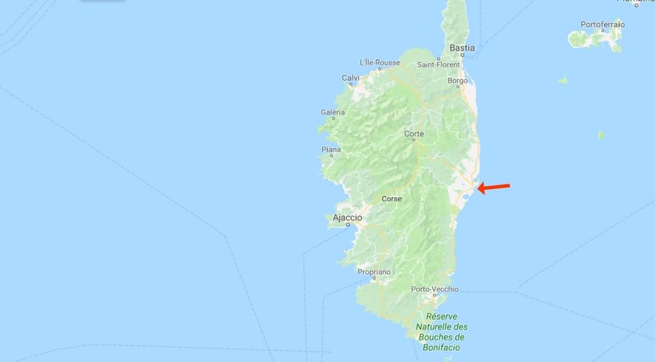 Korsika, Aleria