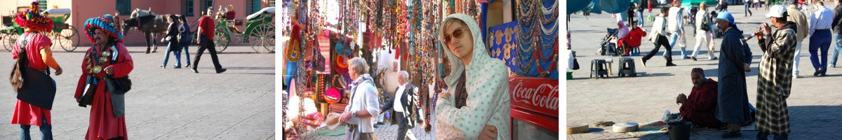 Marocko, Marrakech, Djema el Fna