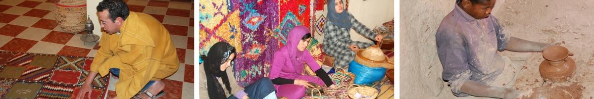 Marocko, hantverk
