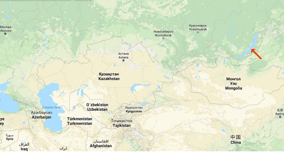 Ryssland, Bajkalsjön