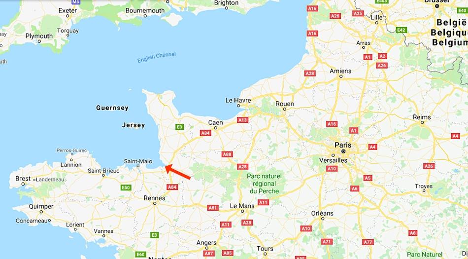 Frankrike, Mont st Michel