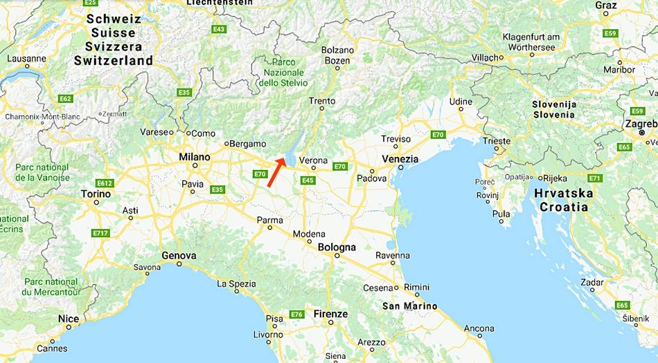 Italien, Moniga del Garda