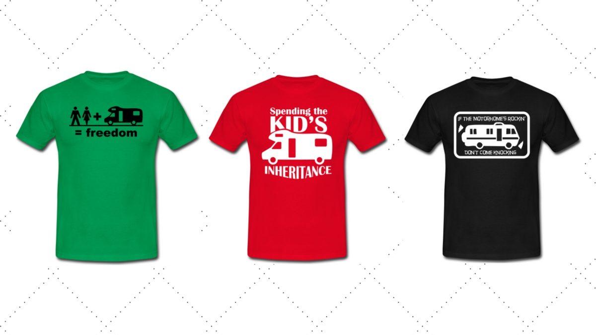 T-shirts med husbilsmotiv
