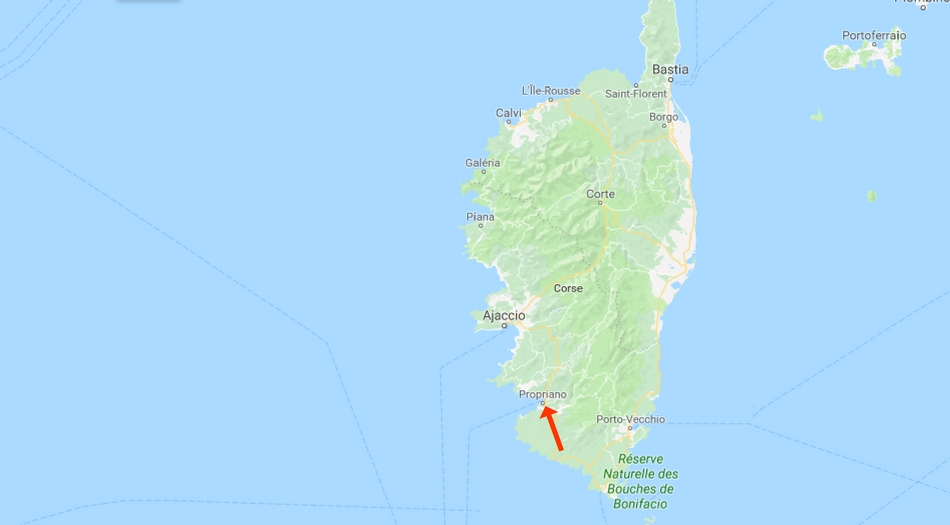 Korsika, Propriano