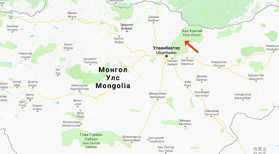 Mongoliet, Terelj Nationalpark