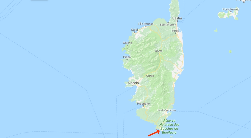 Korsika, Bonifacio