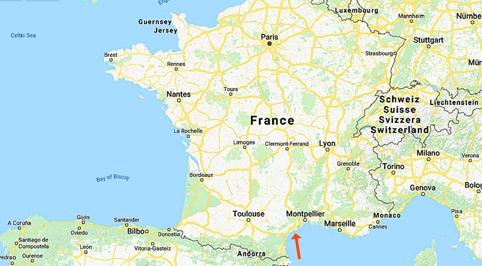Frankrike, Cap d'Agde