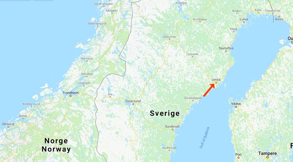 Umeå, First camp