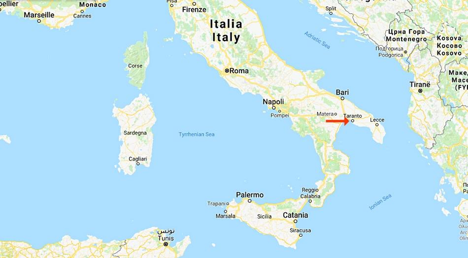 Italien, Taranto