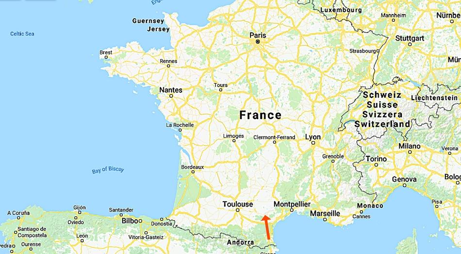 Frankrike, Carcassonne