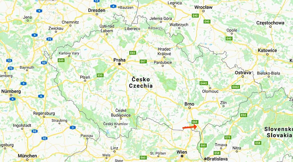 Tjeckien, Velke Bilovice