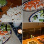 Göra egen sushi