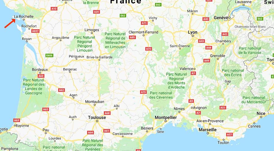 Frankrike, Ile de Re