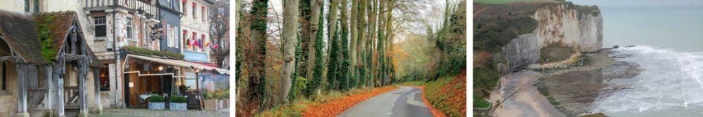 Frankrike, Honfleur, Normandie