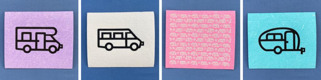 Att utveckla nya produkter - Diskdukar med husbil eller husvagn