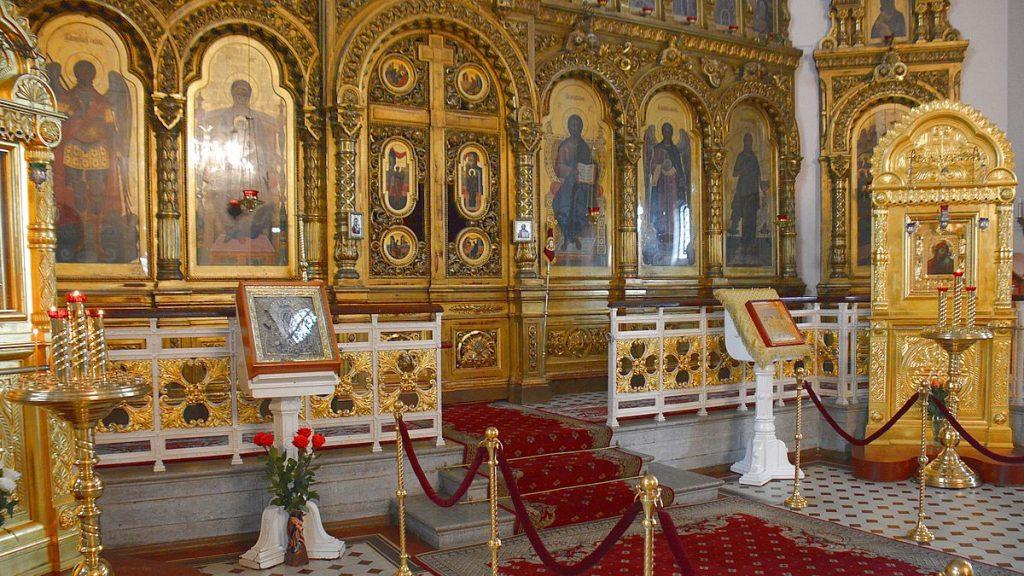 Ortodox katedral i Narva i Estland