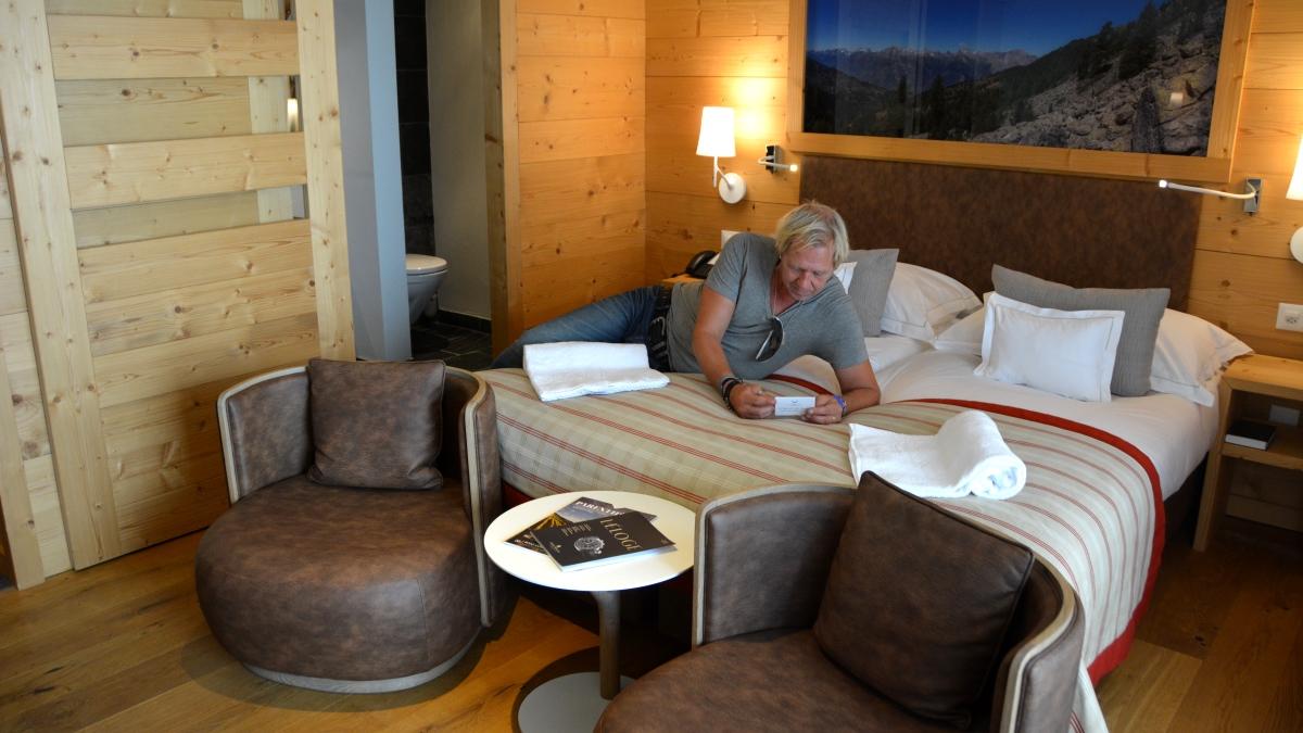 Nendaz hotellrum