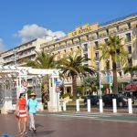 En dag i Nice och Villefranche i Frankrike