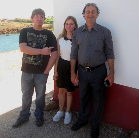 Nicolas, Maria och Jannis