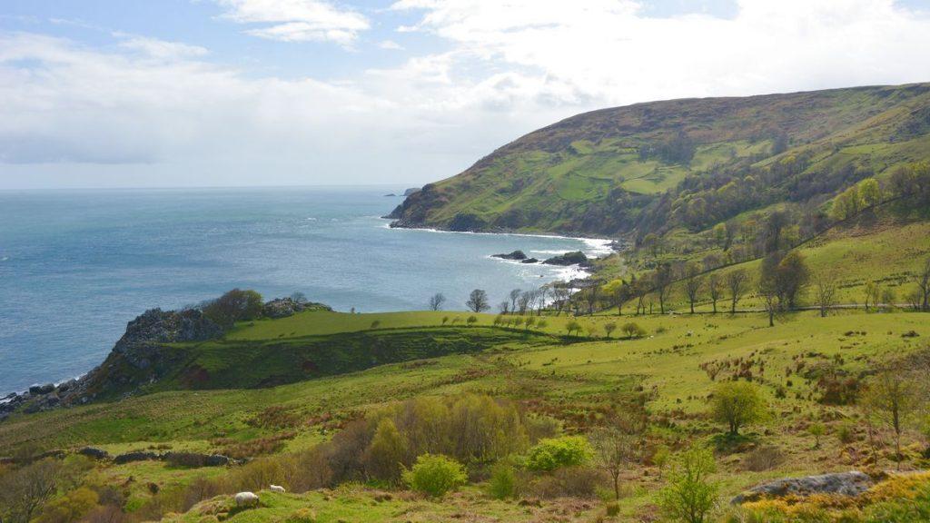 Murlough Bay på Irland