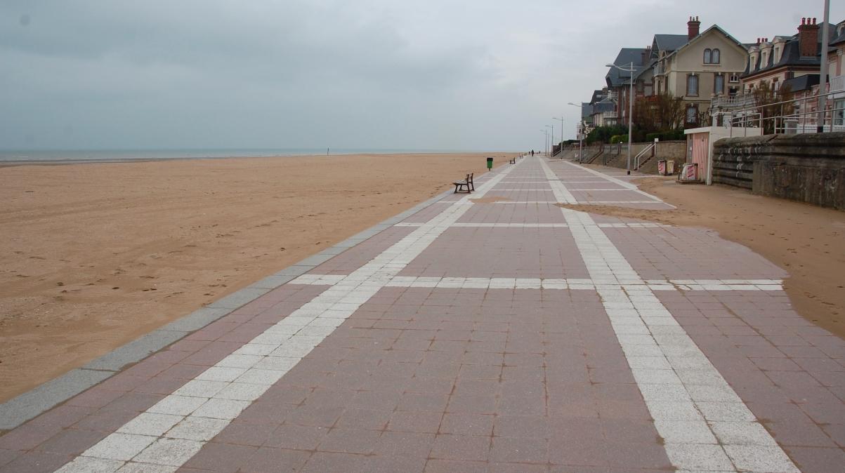 Normandie stränder